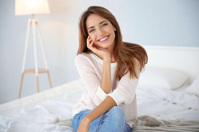 Woman smiling | cosmetic dentistry Leesburg